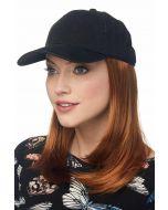 Cardani Long Baseball Cap with Hair | Hats with Hair