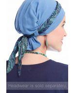Mini Scarf | Accessory for Hats & Headwear | Scarf Band