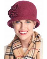 Myri Flower Cloche | Wool Hats for Women