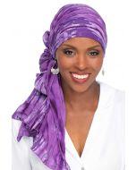 Oblong Batik Head Scarf - 100% Cotton