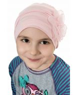 Girls Lotus Beanie Cap   Cardani Kids Viscose from Bamboo Hat