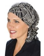 Slip On Slinky Headwrap Pre-Tied Head Scarf