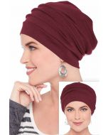 Slouchy Snood Hat in  | 100% Cotton Slouchy Beanie Hats for Women