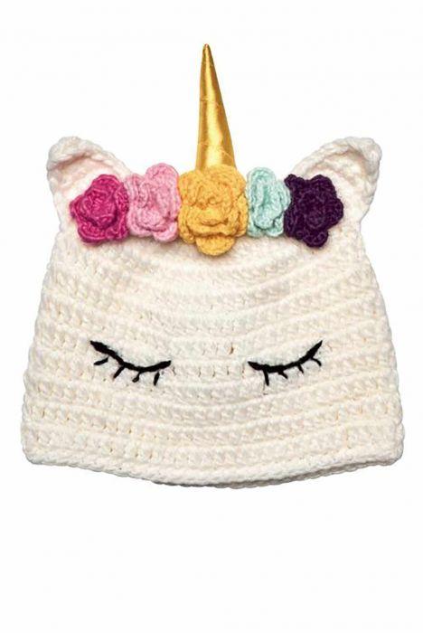 Unicorn Knit Beanie for Kids | Cute Beanies for Kids