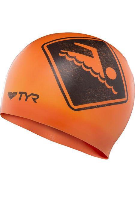 TYR Silicone Swimmers Only Swim Cap
