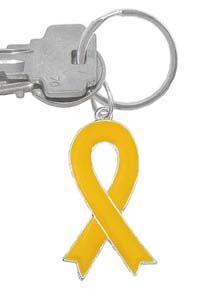 Yellow Ribbon Keychain |