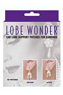 Lobe Wonder | Ear Lobe Support Patches for Earrings