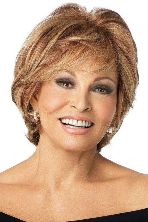 Applause by Raquel Welch Wigs - Human Hair, Monofilament, Lace Front Wig