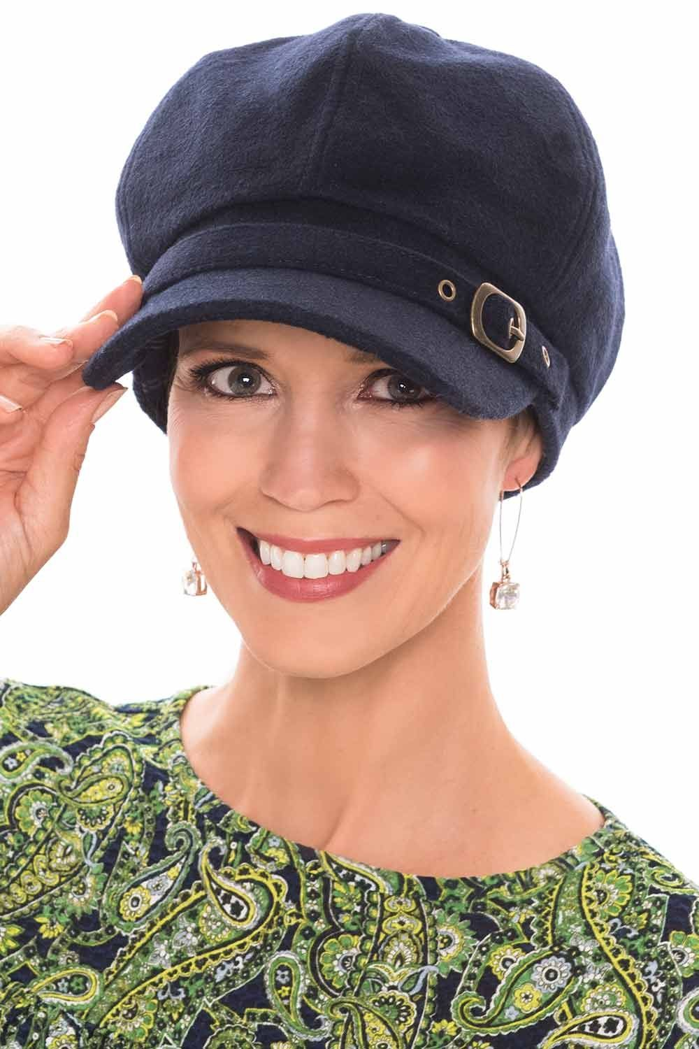 Large Brette Newsboy Hat | Cap for Women with Large Head Sizes