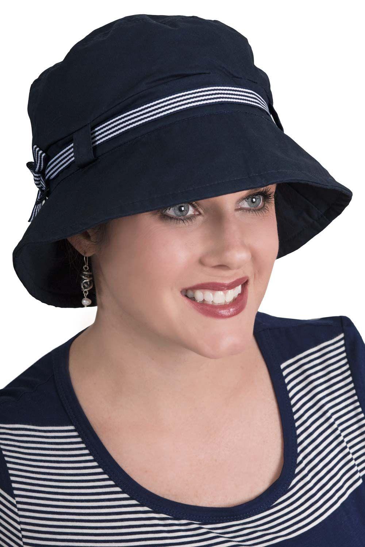 Nautical Bucket Hat   Summer Hats for Women