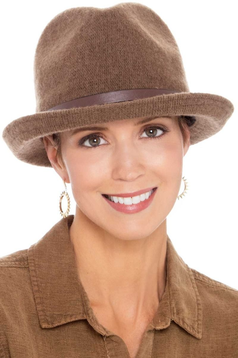 Piper Fedora Hat   Women's Winter Fedoras