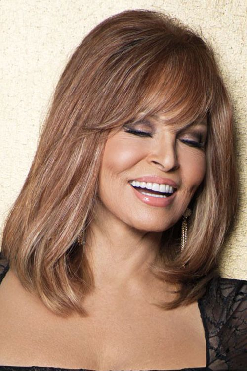 Special Effect Hairpiece by Raquel Welch Wigs - Human Hair, Lace Front,  Monofilament Topper