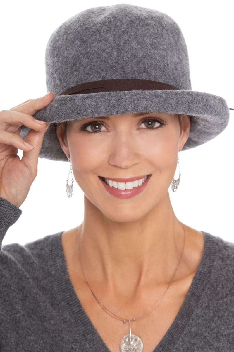 attractive price sale online fast delivery Wool Felt Bowler Hat   Stylish Winter Hats for Women