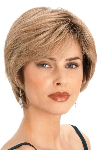 PLF003HM by Louis Ferre Wigs - Human Hair, Hand Tied, Monofilament, Lace Front Wig