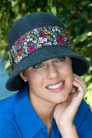 Alexis Flower Band Hat