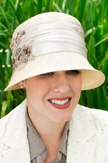 Beaded Berkley Cloche Hat