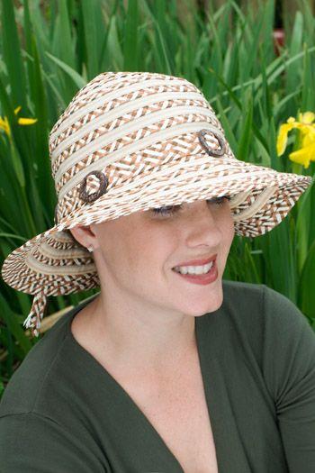 Carla Brimmed Sun Hat  
