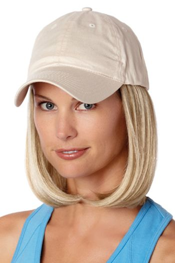 Baseball Cap with Hair: 8228 Classic Hat Beige