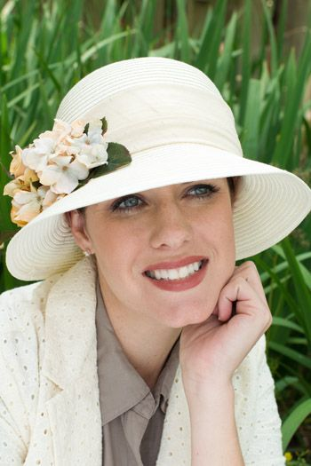 Floral Gwendolyn Hat