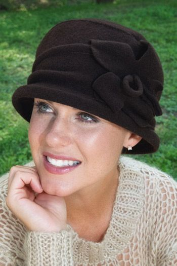 Kailey Wool Cloche Hat