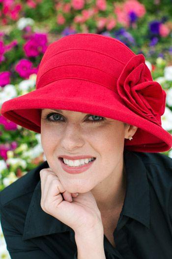 Cotton Brimmed Roseanne Hat