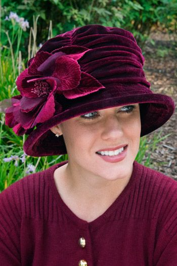 Veronica Hat - Holiday Hat for Women