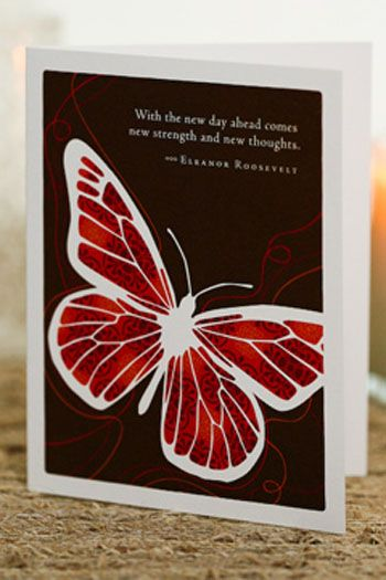 Greeting Card- The New Day Ahead Comes New Strength and New Thoughts |