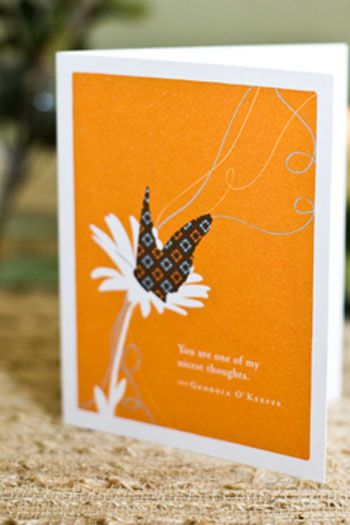 "Greeting Card- ""You Are One of My Nicest Thoughts"" 