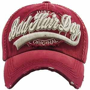 Just a Bad Hair Day Cap | Vintage Distressed Baseball Cap