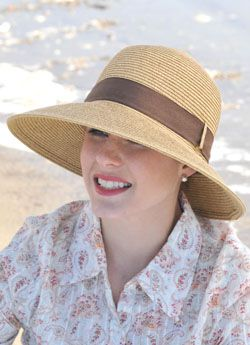 Back Tie Lauren Sun Hat