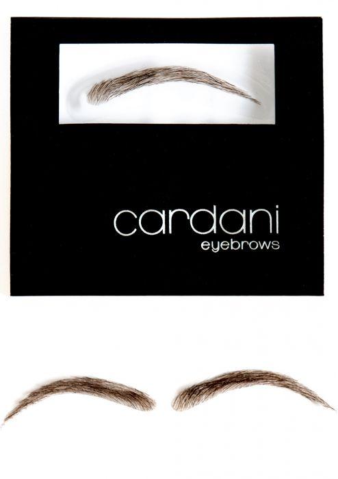 Cardani Human Hair False Eyebrows #15 - Stick On Eyebrow Wig