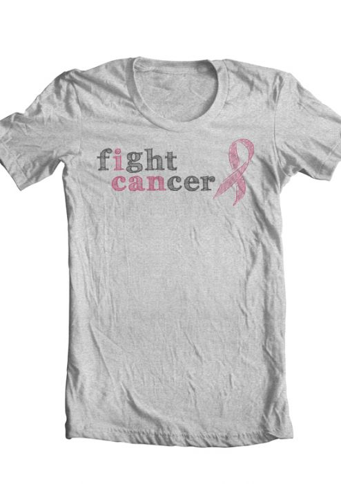Fight Cancer - I CAN - Tee Shirt