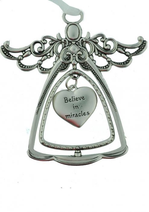 Angel Ornament - Believe in Miracles - Cancer Patient Gift
