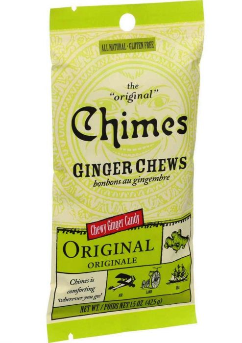 Ginger Chews for Nausea | Chimes All Natural Ginger Chews Candy