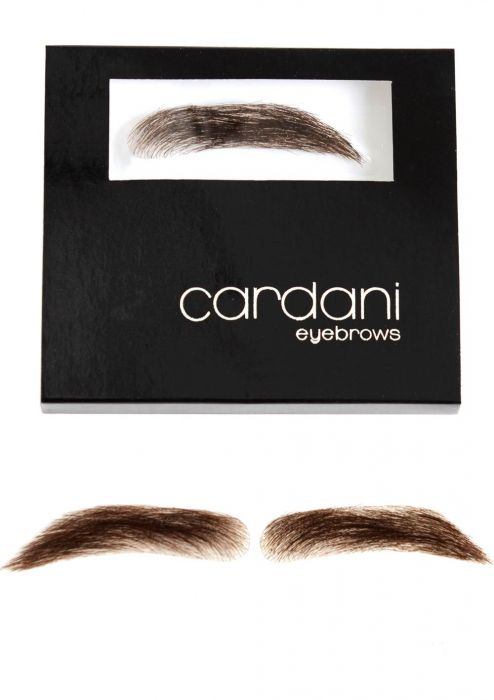 Cardani Fake Eyebrows for Men | Human Hair Stick On Eyebrow Wig