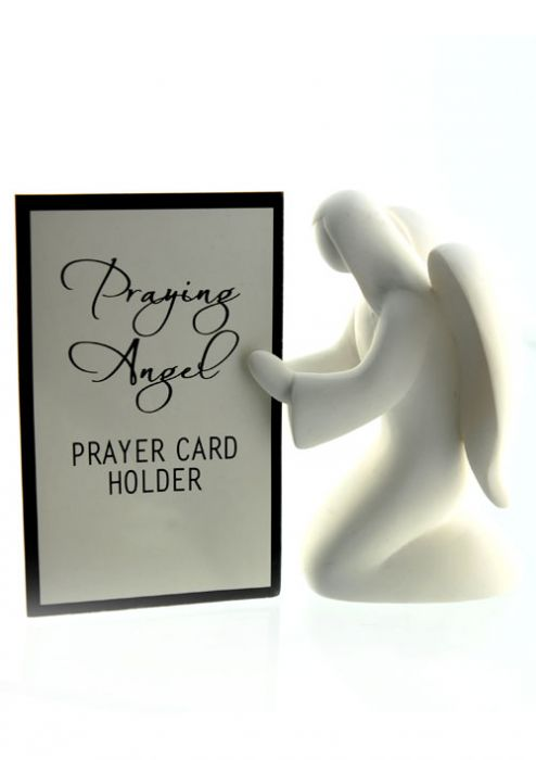 Prayer or Photo Holder Angel - For Cancer Patients