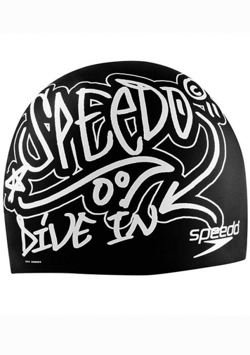 Speedo Drip Dry Silicone Swim Cap  