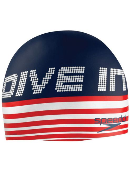Speedo Retroactive Silicone Swim Cap