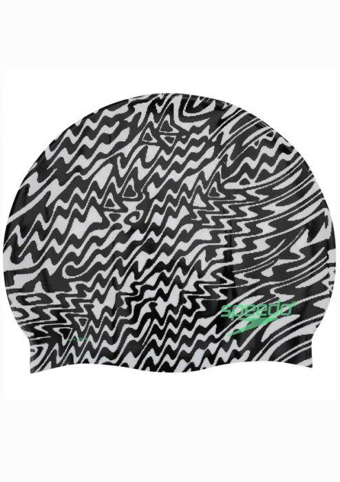 Speedo Pop Vibration Silicone Swim Cap |