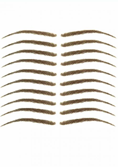Eyebrow Tattoos #12: Natural Shape Eyebrow Tattoos