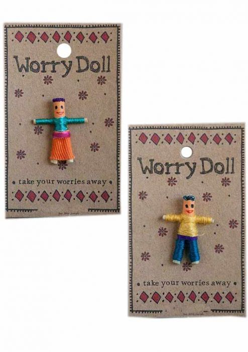 Inspirational Worry Doll