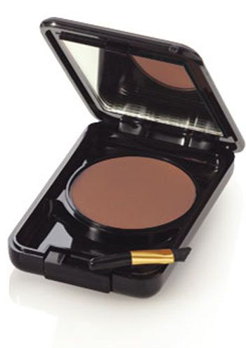Brow Powder | Cardani Deluxe Brush On Eyebrow Powder Compact - Brow Makeup Cosmetics