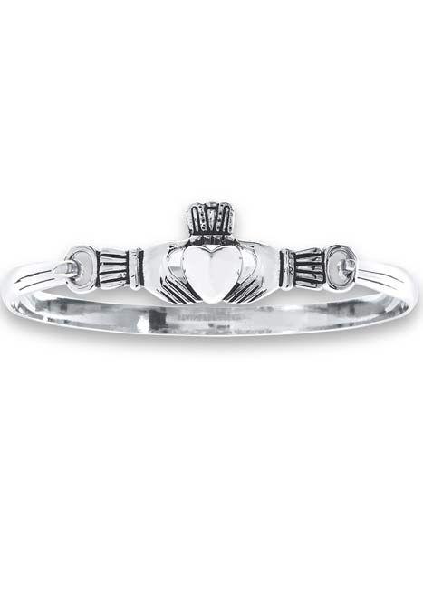 Stainless Steel Claddagh Bracelet |