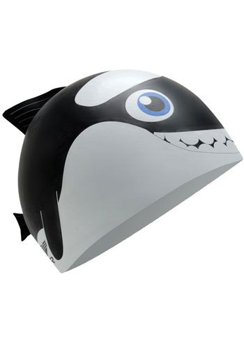 TYR Orca Junior Silicone Swim Cap