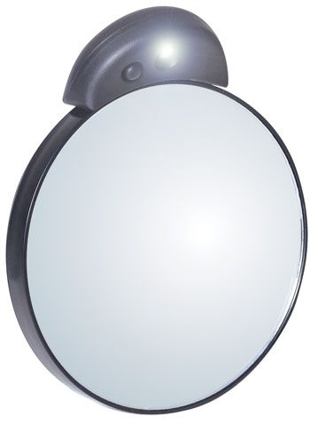 10x Magnification Lighted Makeup MIrror | Hand Held Magnifying MIrror |