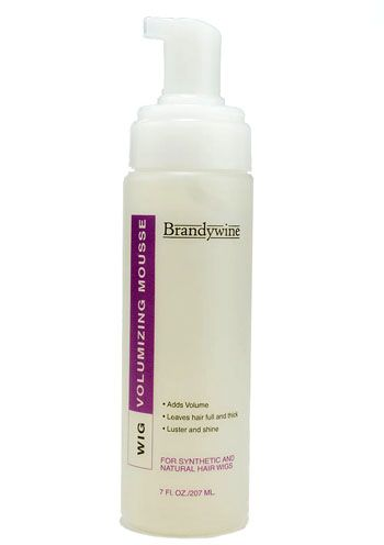 Brandywine Wig Styling Mousse for Synthetic or Human Hair Wigs
