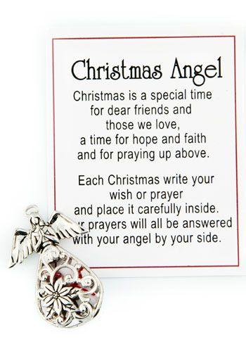 Christmas Wish Message Angel