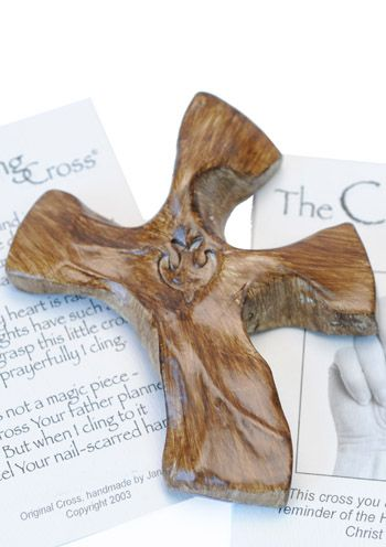 Clinging Cross for Cancer Patients