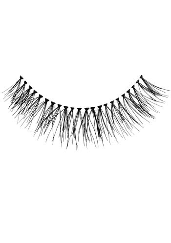 Cardani False Eyelashes #108:  Basic Flare Eyelash - Natural Length