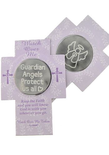 Guardian Angel Protection Pocket Token for Cancer Patients |